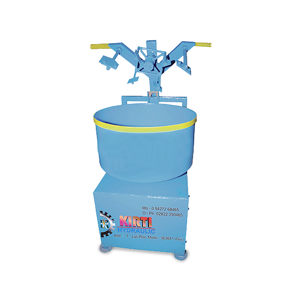 Top Layer Pan Mixer Machine