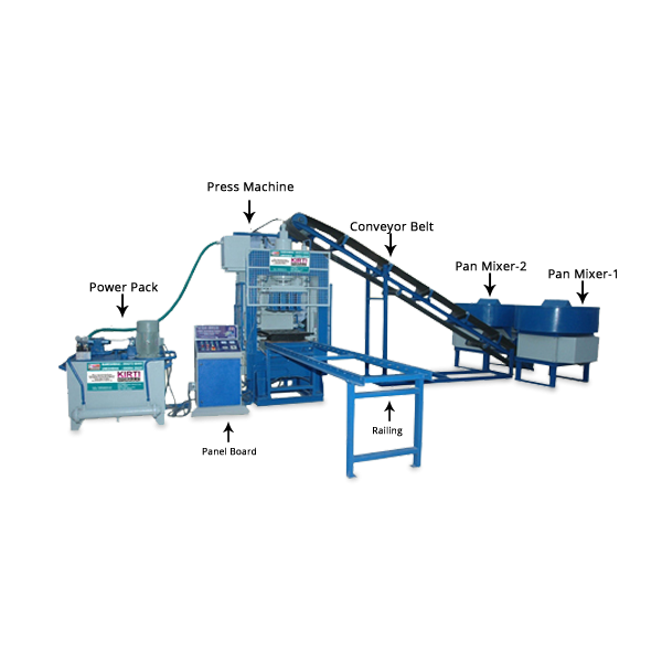 Fly-Ash Bricks Machinery