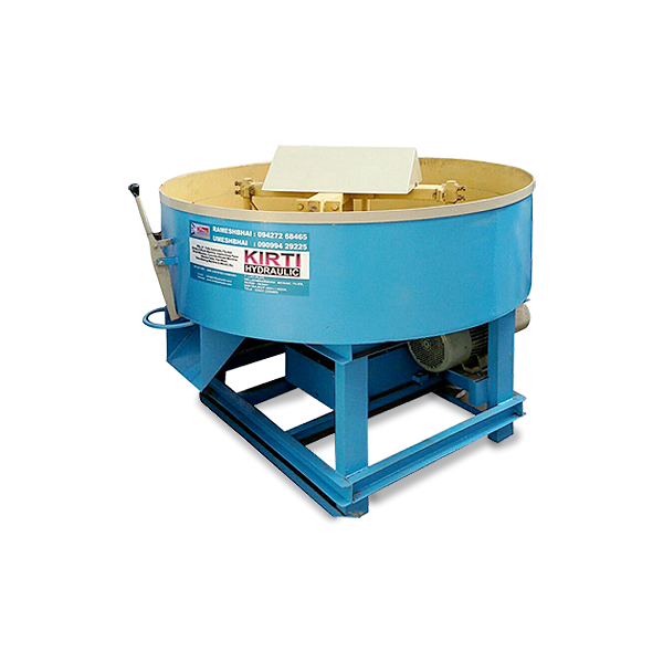 Blade Pan Mixer Machine