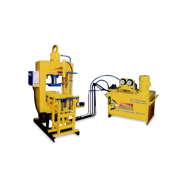 Paver Block Vibro Machine
